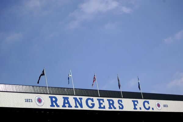 A general view of Ibrox Stadium, home of Rangers