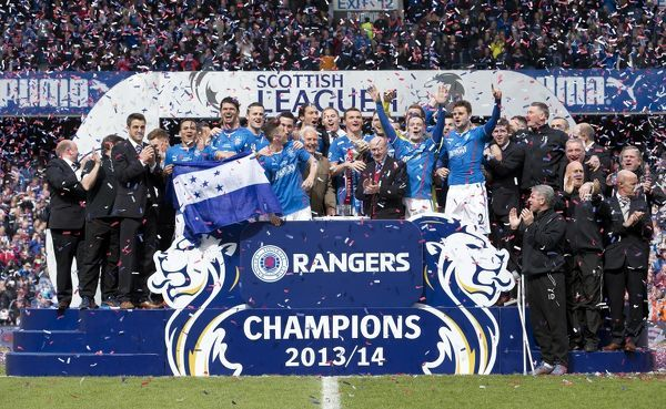 scottish league rangers