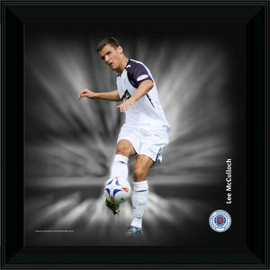 Lee McCulloch Framed Dynamic Action Print