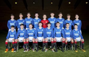 Rangers U15 Team Picture - The Rangers Football Centre