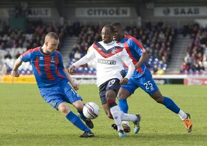 Soccer - Clydesdale Bank Scottish Premier League - Inverness Caledonian Thistle v Rangers - Tulloch Caledonian Stadium