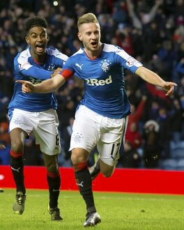 Rangers 1-0 Falkirk (Selection of 57 Items)