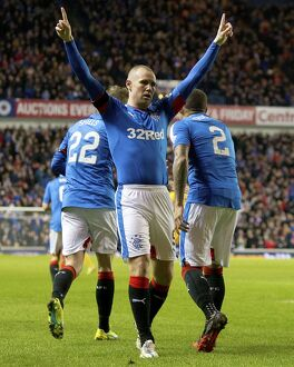Rangers 3-1 Morton (Selection of 61 Items)