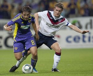 Maribor 2-1 Rangers (Gallery of 40 Items)