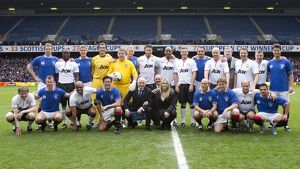 Rangers Legends v Manchester United Legends (Gallery of 71 Items)