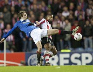 Rangers 0-1 PSV Eindhoven (Gallery of 36 Items)