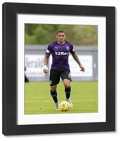 Rangers' James Tavernier during the Ladbrokes Championship match at The Cheaper Insurance Direct Stadium, Dumbarton