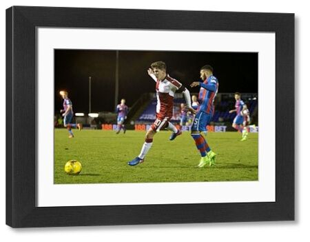 Rangers' Emerson Hyndman skips past Inverness' Jake Mulraney during the Ladbrokes Premiership match at the Tulloch Caledonian Stadium, Inverness