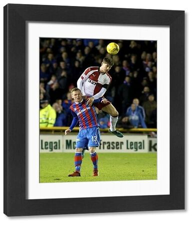 Rangers' Rob Kiernan wins a header from Inverness' Billy McKay during the Ladbrokes Premiership match at the Tulloch Caledonian Stadium, Inverness