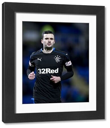 Rangers' Jamie Murphy during the Ladbrokes Premiership match at McDiarmid Park, Perth