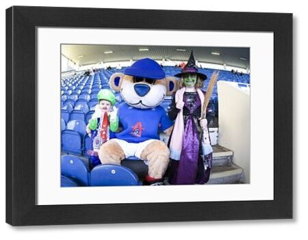 Rangers' kids attend a fun Halloween day in the family stand at Ibrox