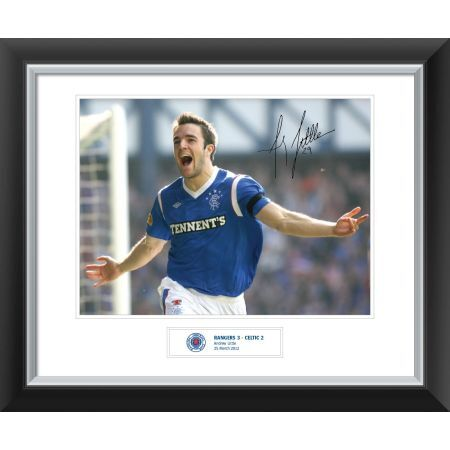 Celebrate an amazing Rangers victory over Celtic with your very own signed print