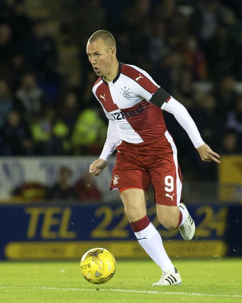 Rangers' Kenny Miller during the Ladbrokes Premiership match at the Caledonian Stadium, Inverness