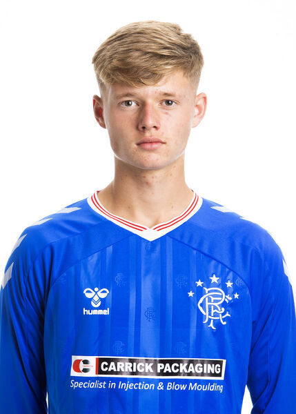 Rangers Reserves Head Shots - The Hummel Training Centre