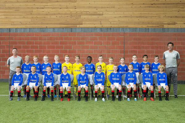 Rangers U10 Team Picture - The Hummel Training Centre