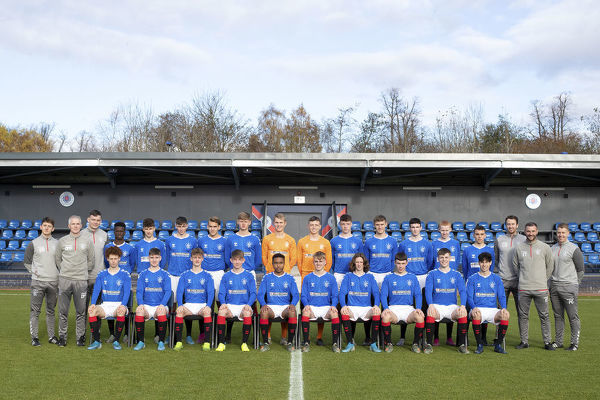 Rangers U18 Team - The Hummel Training Centre