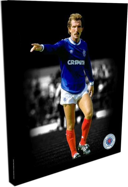 "RNGR084 - Graeme Souness Duo-tone 20""x16"" Canvas (508x406mm)"