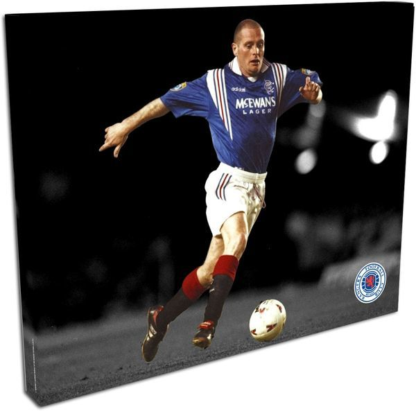 "RNGR086 - Paul Gascoigne Duo-Tone Canvas, 20""x16"" approx Canvas (508x406mm)"