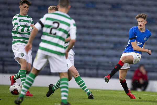 Rangers' Ben Williamson during the Youth Cup Final at Hampden Park, Glasgow