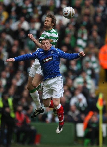 Andreas Hinkel, Celtic and John Fleck, Rangers