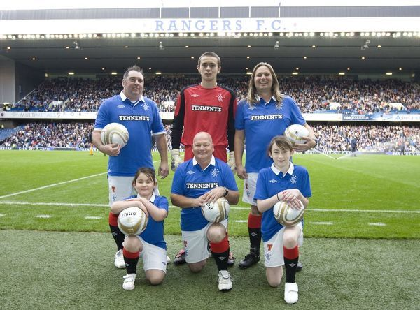 Rangers' half time penalty takers