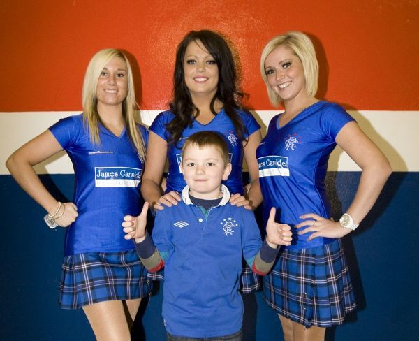 Family fun in the Broomloan stand