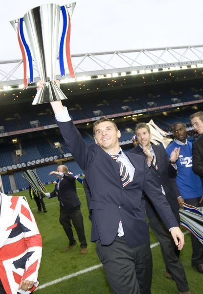 Soccer - Hibernian v Rangers - Clydesdale Bank Premier League - Rangers Return to Ibrox - Glasgow