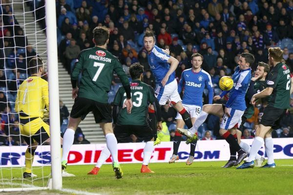 Rangers' Danny Wilson during the Ladbrokes Championship match at Ibrox Stadium, Glasgow