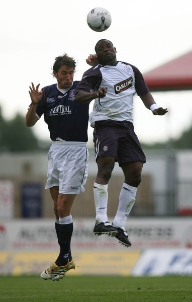 Jack Ross, Falkirk and Jean-Claude Darcheville, Rangers