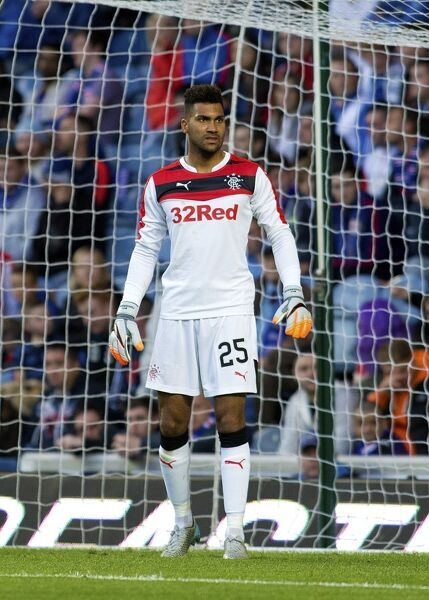 Rangers goal keeper Wes Foderingham during the pre season friendly at Ibrox Stadium, Glasgow