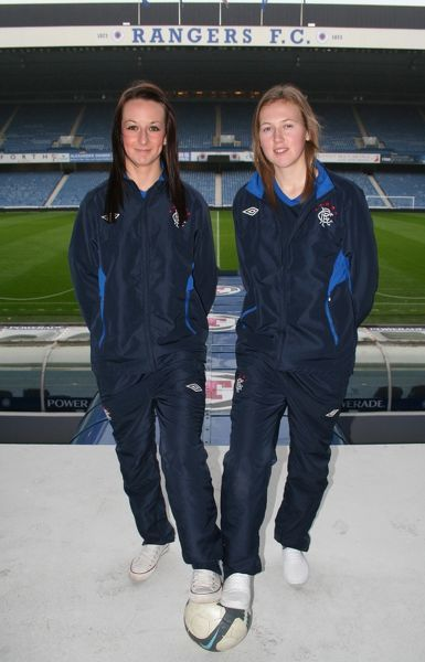 Soccer - Rangers Ladies Ahead of the Unite Scottish Cup Final - Ibrox