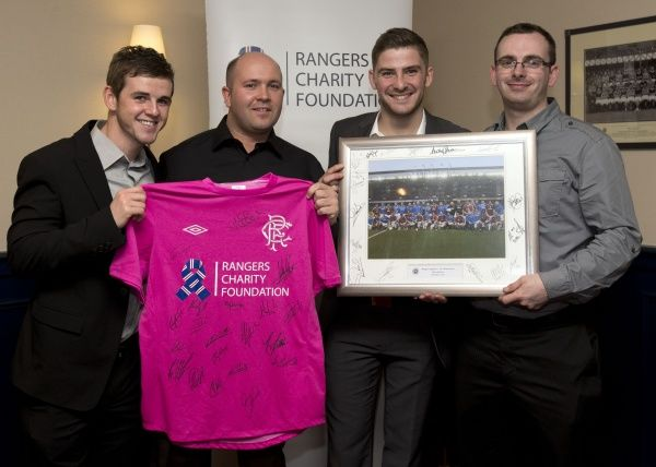 The Rangers race night in the Thornton Suite