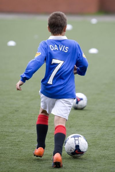 Rangers Summer Soccer School at the Ibrox Complex