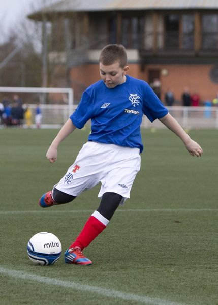 The Rangers Christmas Soccer School at Murray Park