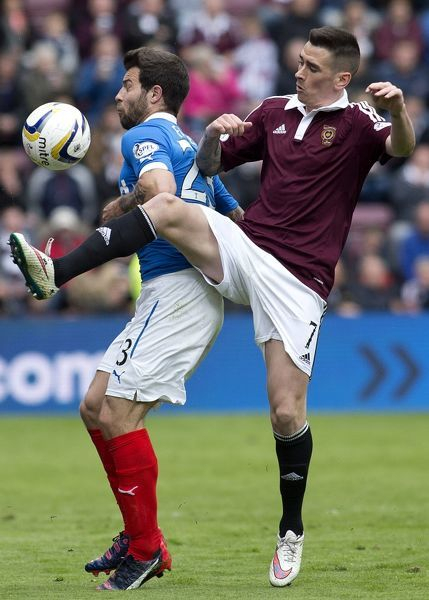 Soccer - Scottish Championship - Heart of Midlothian v Rangers - Tynecastle Stadium