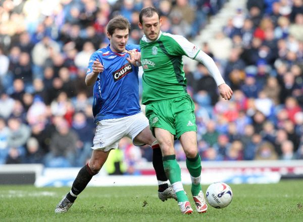 Steven Fletcher, Hibs and Kevin Thomson, Rangers
