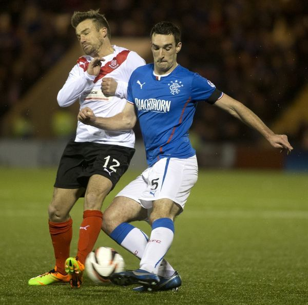 Soccer - Scottish League One - Airdrieonians v Rangers - Excelsior Stadium