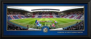 140 years celebration framed panoramic print