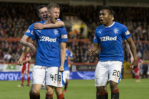 <b>Aberdeen 1-1 Rangers</b><br>Selection of 59 items