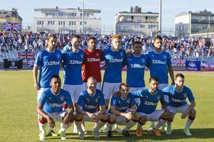 FC Progres Niederkorn v Rangers - UEFA Europa League - First Qualifying Round Second