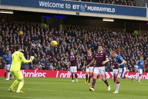 <b>Hearts 1-3 Rangers</b><br>Selection of 136 items