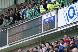 <b>Hibernian 5-5 Rangers</b><br>Selection of 108 items