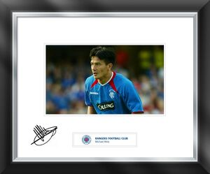 Michael Mols signed and mounted print