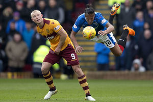 <b>Motherwell 2-2 Rangers</b><br>Selection of 63 items