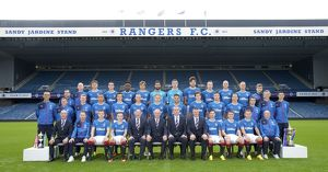 Rangers Team Picture 2016-17 - Ibrox Stadium