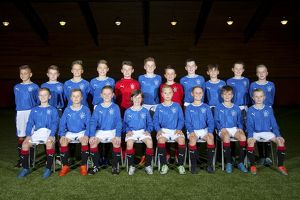 <b>Rangers U12</b><br>Selection of 21 items