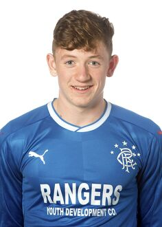 Rangers U17 Head Shots - The Rangers Football Centre