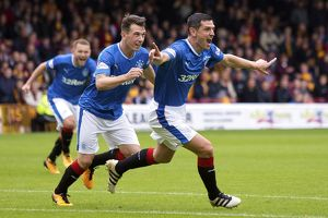 <b>Motherwell 1-2 Rangers</b><br>Selection of 124 items