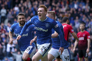 <b>Rangers 1-0 Kilmarnock</b><br>Selection of 55 items