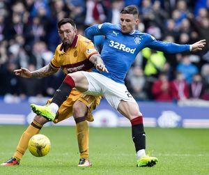 Rangers 1-1 Motherwell (Selection of 81 Items)